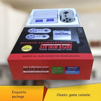400 Games in 1 Classic Super Mini SFC TV Game Console for NES + 2X Wired Controller