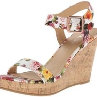 CL by Chinese Laundry Women's Infinity Infinity Rose Fab Wedge Sandal