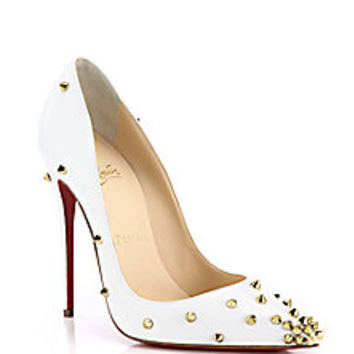 Christian Louboutin - Degraspike Studded Leather Pumps - Saks Fifth Avenue Mobile
