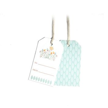 Floral Garland - Gift Tags