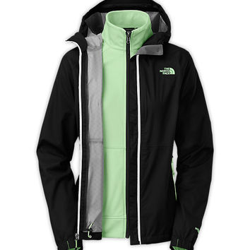 The North Face Women's Jackets & Vests 3-IN-1 JACKETS WOMEN'S MOMENTUM TRICLIMATE®