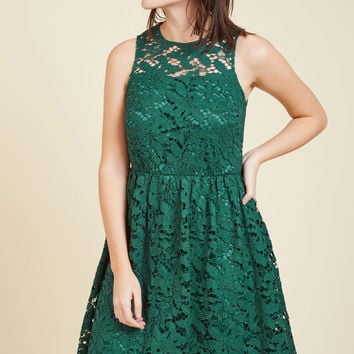 Lithe Laughter Lace Dress | Mod Retro Vintage Dresses | ModCloth.com