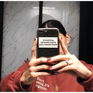 'Mental Health' iPhone Case
