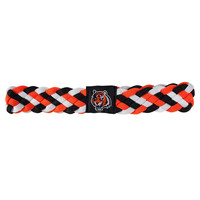 Cincinnati Bengals NFL Braided Head Band 6 Braid