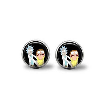 Rick & Morty Earrings