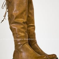 Polly Ann Lace Up Boots