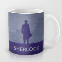 Sherlock Poster 01 Mug by Misery