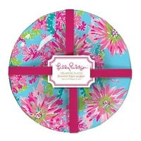 Lilly Pulitzer Melamine Plate Set - Trippin' and Sippin' - 4 ct