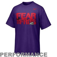 Nike TCU Horned Frogs Rivalry Legend Performance T-Shirt - Purple