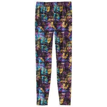 Disney D-Signed Printed Leggings - Girls 7-16, Size: