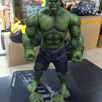 Marvel The Avengers Hulk Super Heroes 1/6 Scale Pants can be taken off PVC Action Figure collectible Model Toys