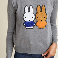 Compania Fantastica Kind of a Bunny Story Sweater