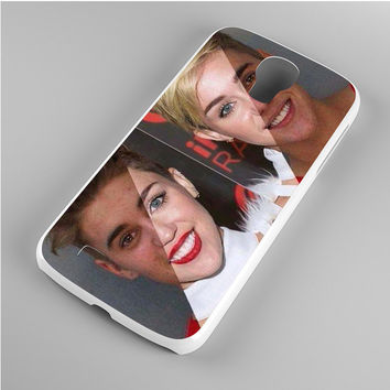 Justin and Miley Look Alike Samsung Galaxy S4 Case