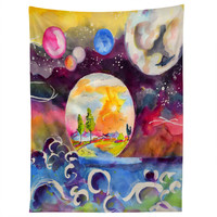 Ginette Fine Art Into The Future Tapestry