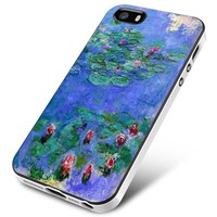 Monet (lily pads) iPhone 5 | 5S | 5SE Case Planetscase.com