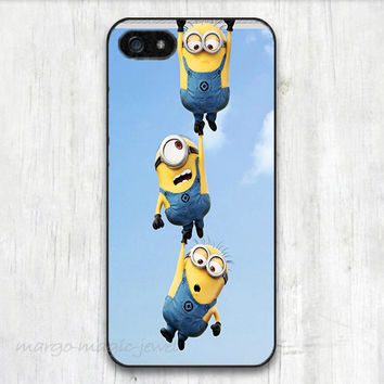 cover case fits iPhone models, unique mobile accessories, minions