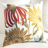 DAISY BOTANICAL INDOOR/OUTDOOR PILLOWS