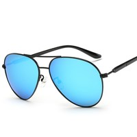 Retro Polarized Sunglasses Men Mirror Brand Driving Sun Glasses Women Alloy Frame PC Legs UV400 Shades Lunette De Soleil Femme