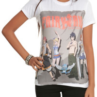 Fairy Tail Group Girls T-Shirt 2XL