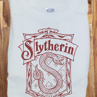 Harry Potter Slytherin Quidditch Tee Tshirt T-Shirt