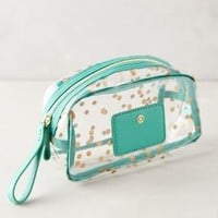 Splendent Spot Cosmetic Bag by Boulevard Mint All Bags