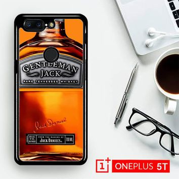 Gentleman Jack Daniels Rare Tennessee Whiskey L2167  OnePLus 5T / One Plus 5T Case