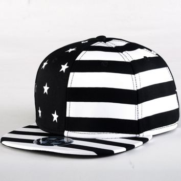 American Flag Hip-hop Baseball Cap Hat