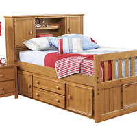 Creekside 4 Pc Full Captain's Bed