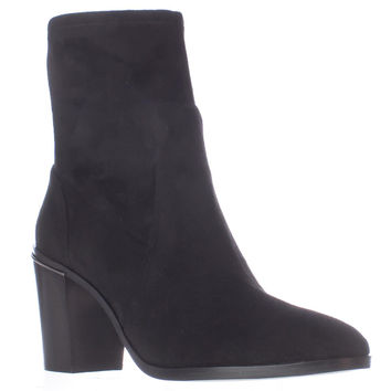 MICHAEL Michael Kors Chase Ankle Booties - Black
