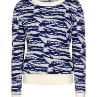 A.p.c. Little Crew Neck Jumper - Long Sleeve Sweater - ShopBAZAAR