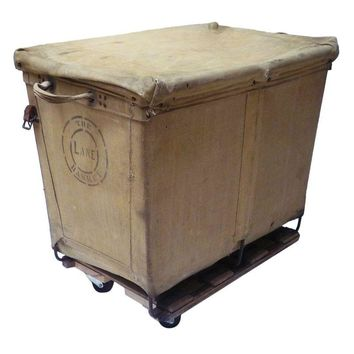 Pre-owned Industrial Laundry Basket
