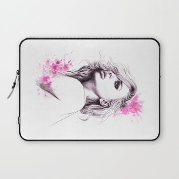 Pink Laptop Sleeve by EDrawings38 | Society6