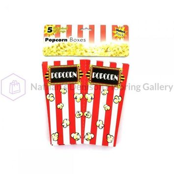 Popcorn Boxes, Package Of 5 GL322