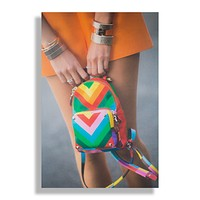 Rainbow Bright | Fashion Art Print