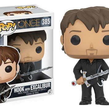 Hook w/ Excalibur Upon A Time Funko Pop! Vinyl Figure #385