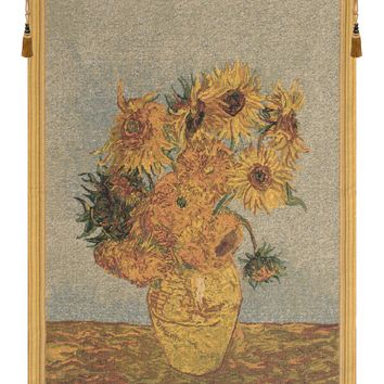 Sunflowers by Van Gogh I Tapestry Wall Hanging