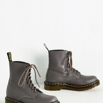 March Through Manhattan Boot in Graphite | Mod Retro Vintage Boots | ModCloth.com