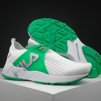 Fila 1751 White/green Running Shoes Size 36 44.5