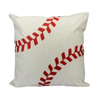 Baseball decorative throw pillow cover