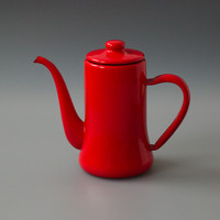 Japanese Coffee Pot Red
