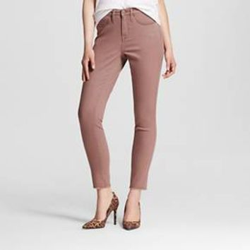 Women's High-rise Skinny Jeans Pink - Mossimo™