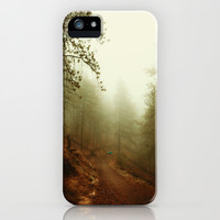 Autumn in Ponderosa Pines Forest iPhone & iPod Case by Va103