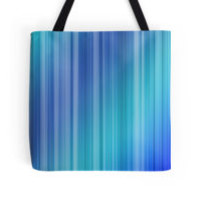 Abstract Blue Stripe Pattern by TigerLynx