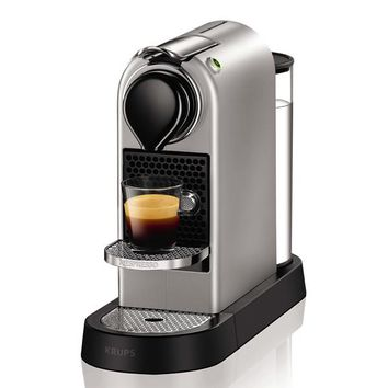 Krups XN740B Pod coffee machine 1L Silver coffee maker