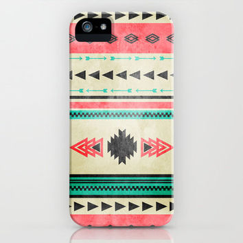 Vintage Southwestern Pattern.  iPhone & iPod Case by Designs For Ann-Jolie