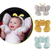 Bee Shape Cotton Baby Shaping Stroller Pillow