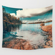 Belle Svezia Wall Tapestry by HappyMelvin