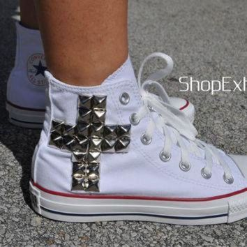 DCCKHD9 True Story-Cross Studded Converse
