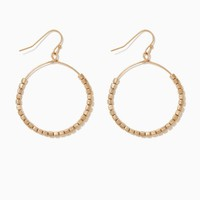 Zana Beaded Hoops | Fashion Jewelry - Earrings | charming charlie