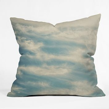 Shannon Clark Peaceful Skies Throw Pillow